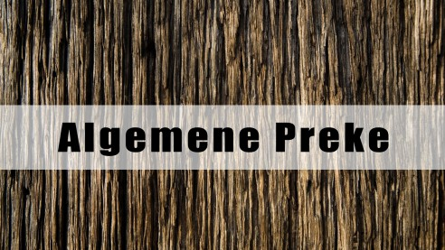 Algemene Preke